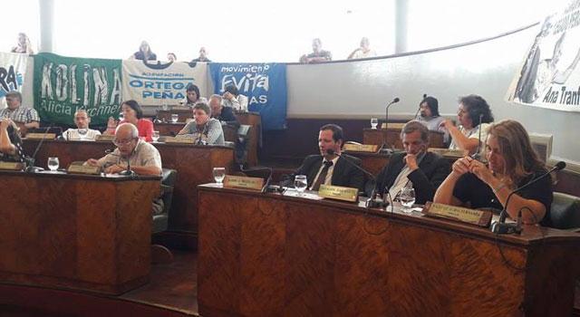 El Concejo reflotó el reclamo por la Jefatura Departamental
