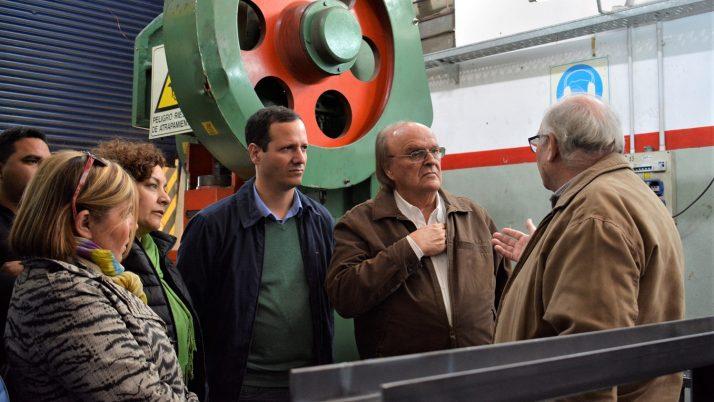 """Trezza: """"Las pymes de Lomas están sufriendo la falta de una política industrial"""""""