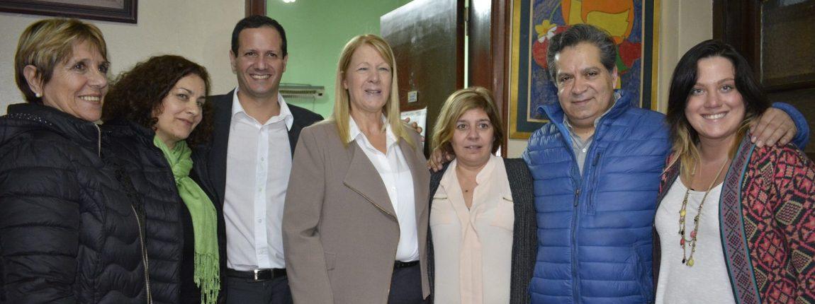 Trezza y Stolbizer visitaron una Sala de Primeros Auxilios en Turdera