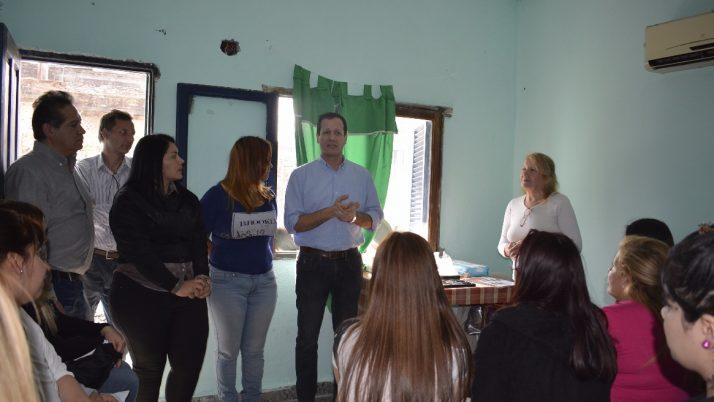 Trezza inauguró un nuevo taller de oficios en Las Heras