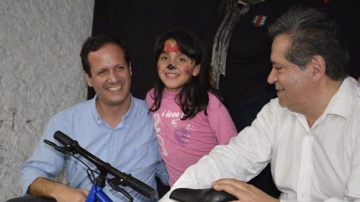 Trezza participó de los festejos por el Día del Niño en la Unión Vecinal